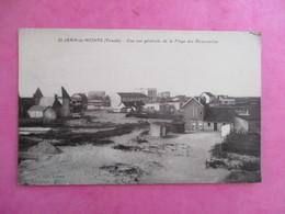 CPA 85 SAINT JEAN DE MONTS VUE GENERALE DE LA PLAGE DES DEMOISELLES - Saint Jean De Monts