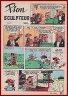 Céleste Pion Sculpteur. Bande Dessinée De 1966. Scénario Jacques Acar. Dessins De Hugo. Histoire Complète. - Vieux Papiers