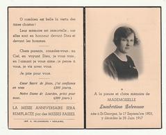 Lambertine DELVENNE St-Georges 1903-1947 Brancardière Lourdes Zélatrice Oeuvres Missionaires Borgerhout Membre Patronage - Images Religieuses