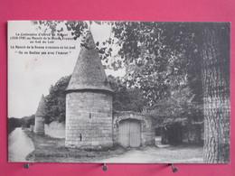 Visuel Pas Très Courant - 41 - Le Gué Du Loir - Manoir De Bonne Aventure - Centenaire D'Alfred De Musset - Recto Verso - France