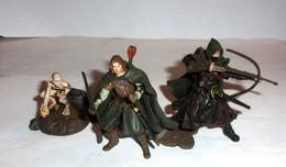 """Lot De 3 Figurines """"Le Seigneur Des Anneaux"""" - Play Along 2004 - Lord Of The Rings"""