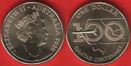 "Australia 1 Dollar 2020 ""QANTAS Centenary"" UNC - Decimal Coinage (1966-...)"