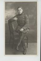 BELGIQUE - ANVERS - MILITARIA - Belle Carte Photo Portrait Militaire Réalisée Par ATELIER J. DE JONG à ANVERS - Antwerpen