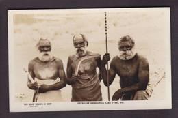CPA Australie Australia Aborigène écrite - Aborigenes