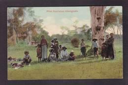 CPA Australie Australia Aborigène Circulé - Aborigenes