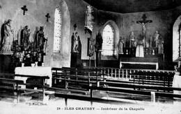 50 - ILES CHAUSEY - Intérieur De La Chapelle - France