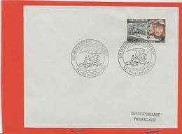 M39 COURRIER CACHET MANUEL + TIMBRE  AVIATION GUYNEMER 16/17/09/1967 L OISEAU BLANC NUNGESSER ET COLI - Marcophilie (Lettres)
