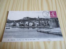 Calvi (20).Le Port Et La Ville Vus De La Jetée. - Calvi