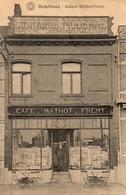 6-   GEMBLOUX.MAISON MATHOT FREMY Café  Librairie Moderne. Edit: Hermans. Prés De Beuzet, Lonzée Et Ernage. - Gembloux