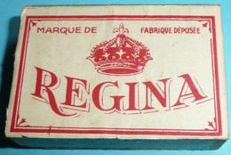 Rare Ancienne Boite D'épingles Acier REGINA Couture Dentellière Broderie Mercerie - Outils