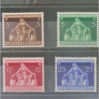 Allemagne, 3ème Reich 1933-1945, N° 573-576, N** Cote 20€ - Allemagne