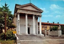 Cartolina Udine Chiesa B.V. Delle Grazie Timbro Filatelico Mon Artigliere Alpino - Udine