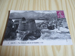 Calvi (20).Vue Générale Prise De La Citadelle. - Calvi