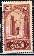 MAROC Fr. 383 // YVERT 104 // 1923-27 - Usados