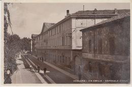 VOGHERA (PAVIA) - VIA EMILIA - OSPEDALE CIVILE - VIAGGIATA 1934 - Pavia