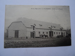 CPA 56 Ecole D'Agriculture De PLOERMEL Ferme De La Touche  TBE - Ploërmel