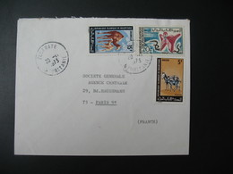 Lettre Thème Animaux  Chameau âne Artisanat  Ile Maurice  1973  Pour La Sté Générale En France Bd Haussmann Paris - Mauritius (1968-...)