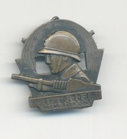 INSIGNE INFANTERIE.171 Eme Rgt D Infanterie De Forteresse, RIF. Fab. ARTUS BERTRAND (restauration à L'arriére Voir Scan) - Armée De Terre