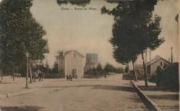 ETAIN  -  55  -  Route De Metz -  ( Carte Colorisée ) - Etain