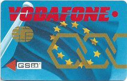 Unknown - Vodafone Specimen Facsimile Chip GSM - Unknown Origin