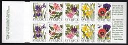Sweden 1997 / Garden Flowers / MNH / Mi 1996-2000, Booklet MH 227 - Suède