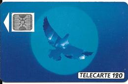 CARTE-PUBLIC-12/90-F135A-120U-SC4on-Trou 6-L OISEAU BLEU-5Pe 22671-UTILISEE-TB E-LUXE - 1990