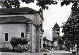 (145)  CPSM  Annecy Le Vieux  Eglise    ( Bon Etat) - Annecy-le-Vieux