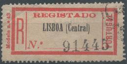 Lot N°54791  Recommandé ??? - Portugal
