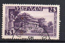 VIETNAM - EMPIRE - 1951 - PAYSAGE VIETNAMIEN - 2$ -Oblitéré - Used - - Vietnam