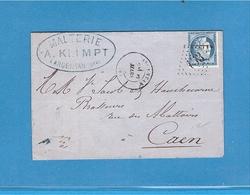 Lot 96 - CERES 25c Bleu N° 60 B Type II Orne Argentan - Session Tout à 5€ - 1871-1875 Cérès