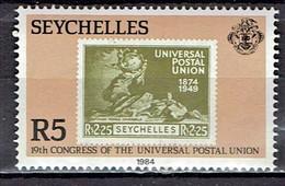 Seychellen - Mi-Nr 562 Postfrisch / MNH ** (v733) - Briefmarken Auf Briefmarken
