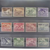 Allemagne, 3ème Reich 1933-1945, N° 748-759, N** Cote 22.50 € - Allemagne