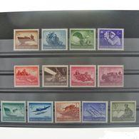 Allemagne, 3ème Reich 1933-1945, N° 791-803, N** Cote 22.50€ - Allemagne