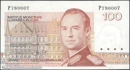 TWN - LUXEMBOURG 58b - 100 Francs 1986 Prefix P UNC - Luxembourg