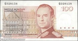 TWN - LUXEMBOURG 58b - 100 Francs 1986 Prefix Q UNC - Luxembourg