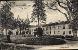 Cp Villecresnes Val De Marne, L'Asile Saint Pierre, Le Parc - Otros Municipios