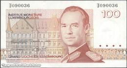 TWN - LUXEMBOURG 58b - 100 Francs 1986 Prefix U UNC - Luxembourg