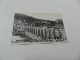 Cp  Réservoir  De  La  Bouillouse  Vue Générale  Des  Travaux  Fin  Aout  1907 - Altri Comuni