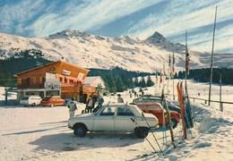 73 - Meribel-les-allues - L'altiport - Voitures - Autres Communes