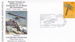 30 AÑOS DEL PRIMER VUELO NAVAL AL POLO SUR, 1° MUESTRA AEROFILATELICA TIERRA DEL FUEGO. ARGENTINA 1991 SPC FLIGT -LILHU - Poolvluchten