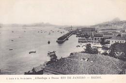 Cpa Old Pc Brésil Rio Alfandega Vierge - São Paulo