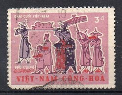 VIETNAM - SUD - SOUTH - 1967 - TET CELEBRATION - 3d - Oblitéré - Used - - Vietnam