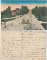 VICENZA - CAMPO MARZIO - TRAM - FILOBUS - VIAGG. 1917 -46334- - Vicenza