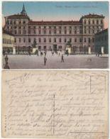 TORINO - PIAZZA CASTELLO E PALAZZO REALE - VIAGG. 1917 -46336- - Palazzo Reale