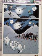 Bande Dessinée Spirou 1996 - Jeu D'échecs, Spectres Contre Zombies - Dessin, Humour - Vieux Papiers