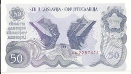 YOUGOSLAVIE 50 DINARA 1990 UNC P 101 - Yougoslavie