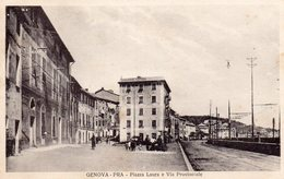 Genova Pra - Piazza Laura E Via Provinciale - Genova (Genoa)