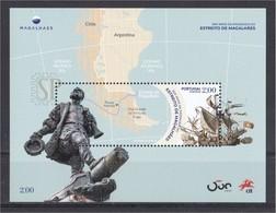 Portugal Espanha 2019 500 Anos Expedição Fernão Magalhães Parchemin Parchment Exploradores Navegación Explorers - Explorers