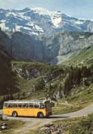 Schweizer Postbus,Klausenpass Straße, Gelaufen - Buses & Coaches