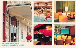 Sherbrooke Québec - Hôtel Motel Le Baron - Restaurant - Canadian Pacific CP - Unused - 2 Scans - Sherbrooke